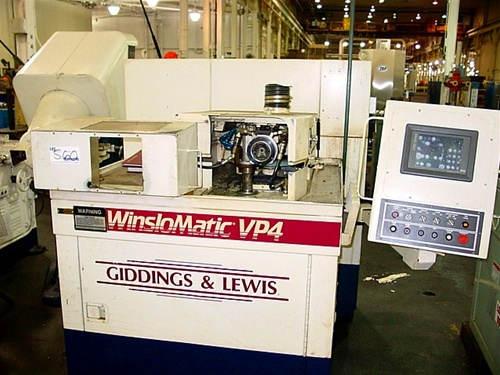 Giddings And Lewis. Giddings amp; Lewis VP4 Winslowmatic DRILL GRINDER - click to enlarge