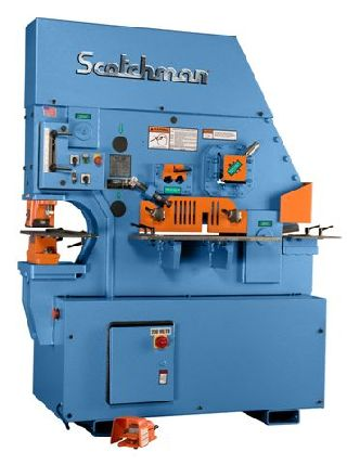 Scotchman Ironworker for Sale http://www.usedsurplusmachinery.com/um/ironworkers-2/