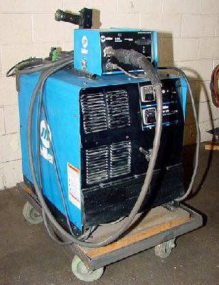 300 Amp Miller CP-302 ARC WELDER, With MILLER S-22A WIRE FEEDER for
