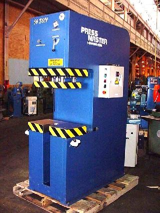 Hydraulic C-Frame Presses for sale | Used Hydraulic C-Frame Presses