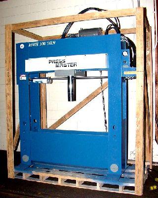 100 Ton 12 Stroke Pressmaster HFP-100 XWMWH H-FRAME HYDRAULIC PRESS