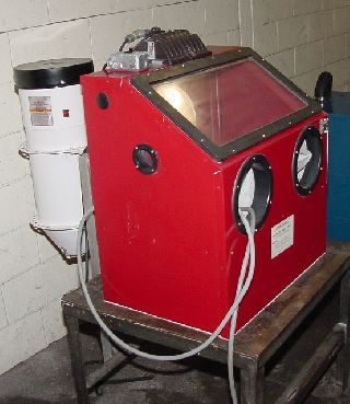 Blast Cleaning Machines For Sale Used Blast Cleaning