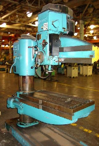 Radial Arm Drills - 4 Arm Lth 11 Col Dia Fosdick Sensitive RADIAL DRILL