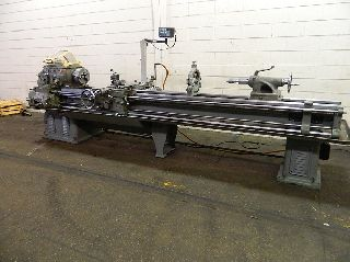 Engine Lathes - 14 Swing 126 Centers Monarch 14C ENGINE LATHE, Taper, 3-Jaw, Sony DRO, St