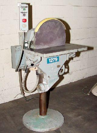 Belt Grinders - 16 Width Max 16SD BELT GRINDER, 16 Disc Sander, 1 H.P./3/60/230-460 Volts