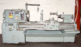 Engine Lathes - 20 Swing 54 Centers Monarch 610 ENGINE LATHE, Roller Type Steady Rest, 15
