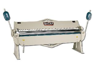 Engine Lathes - 12Ga Thickness 96 Width Baileigh BB-9612 FINGER BRAKE, 22-finger assortmen