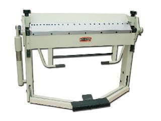 Engine Lathes - 12Ga Thickness 40 Width Baileigh BB-4012F FINGER BRAKE, foot operated mate