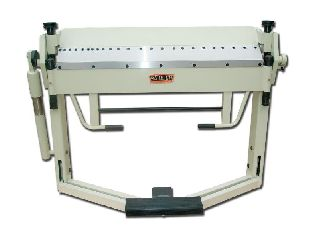 Engine Lathes - 14Ga Thickness 50 Width Baileigh BB-5014F FINGER BRAKE, foot operated mate