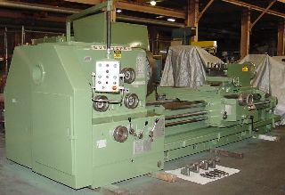 Engine Lathes - 38 Swing 80 Centers Timemaster Gurutzpe BT 2000/500 ENGINE LATHE, Inch/Me