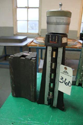 Starrett DIGICHECK HEIGHT GAGE INSPECTION EQUIPMENT, 12 - powiększ zdjęcie