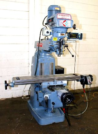 42 Table 3HP Spindle Clausing-Kondia FV-1 VERTICAL MILL