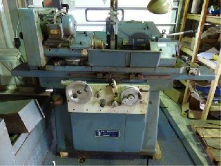 Universal Cylindrical Grinders - 10 Swing 18 Centers Jones & Shipman 1311 OD GRINDER, HYD. TABLE, AUTO INF