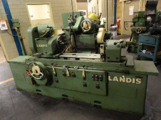 Universal Cylindrical Grinders - 14 Swing 36 Centers Landis 3R OD GRINDER, I.D., HYD. TABLE, PICK, PLUNGE,