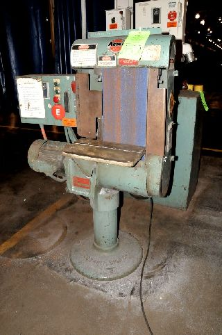 Belt Grinders - 10 Width Acme B-3 BELT GRINDER, MADE IN USA