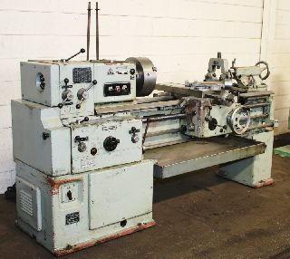 Engine Lathes - 16 Swing 60 Centers Tos SN40A ENGINE LATHE, Inch/Metric, 3-Jaw, Trav-A-di