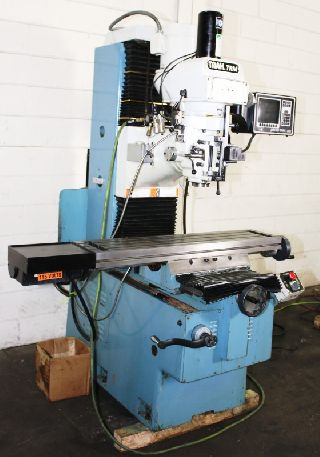 CNC Vertical Milling Machines - 26 X Axis 3HP Spindle Southwest Ind. TRM CNC VERTICAL MILL, Proto-Trak MX2