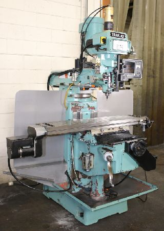 CNC Vertical Milling Machines - 32 X Axis 3HP Spindle Southwest Ind. K3 CNC VERTICAL MILL, Proto-Trak  AGE